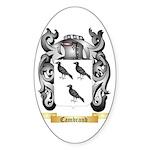 Cambrand Sticker (Oval 50 pk)