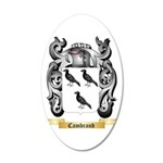 Cambrand 20x12 Oval Wall Decal