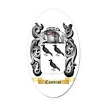 Cambran Oval Car Magnet