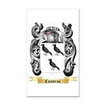 Cambran Rectangle Car Magnet