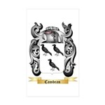 Cambran Sticker (Rectangle 10 pk)