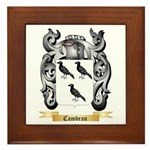 Cambran Framed Tile