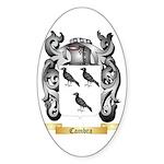Cambra Sticker (Oval 50 pk)