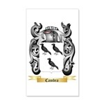 Cambra 20x12 Wall Decal