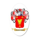 Camberbirch Oval Car Magnet