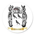 Camarino Round Car Magnet