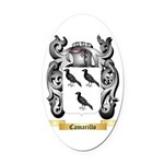 Camarillo Oval Car Magnet