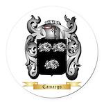 Camargo Round Car Magnet