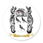 Camarero Round Car Magnet