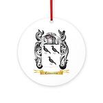 Camarero Ornament (Round)