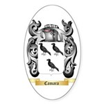 Camara Sticker (Oval 50 pk)
