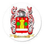 Camancho Round Car Magnet