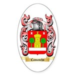 Camancho Sticker (Oval)