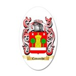 Camancho 35x21 Oval Wall Decal