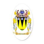 Calwell Oval Car Magnet