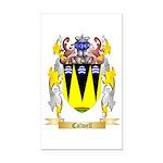 Calwell Rectangle Car Magnet