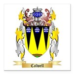 Calwell Square Car Magnet 3