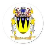 Calwell Round Car Magnet