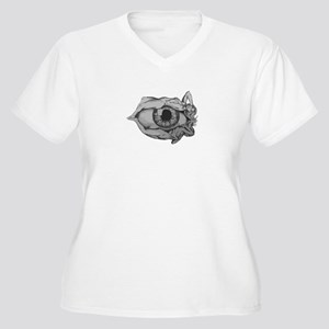 Ladies Eye Plus Size T-Shirt