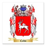 Calvo Square Car Magnet 3