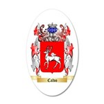 Calvo 35x21 Oval Wall Decal