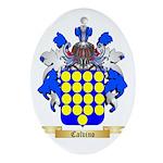 Calvino Ornament (Oval)
