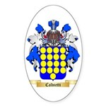 Calvietti Sticker (Oval 50 pk)