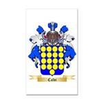 Calvi Rectangle Car Magnet