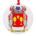 Calvey Round Ornament