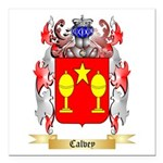 Calvey Square Car Magnet 3