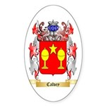 Calvey Sticker (Oval 10 pk)