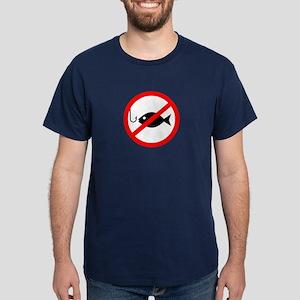 Poker: No Fishing Dark T-Shirt