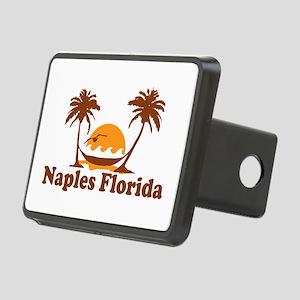 Naples FL - Palm Trees Design. Rectangular Hitch C