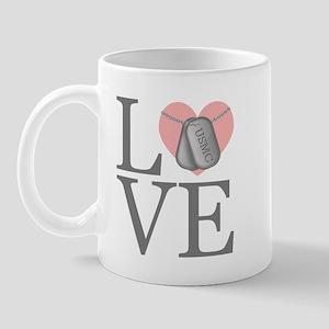 USMC Love Mug