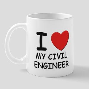 I love civil engineers Mug
