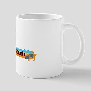 Naples Beach - Beach Design. Mug