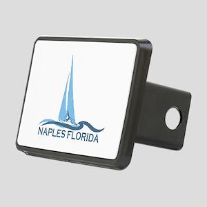 Naples Beach - Sailing Design. Rectangular Hitch C