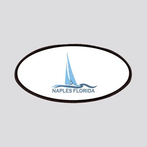 Naples Beach - Sailing Design. Patches