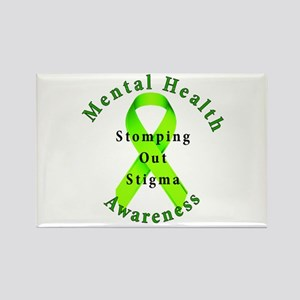 Stomping Out Stigma Rectangle Magnet
