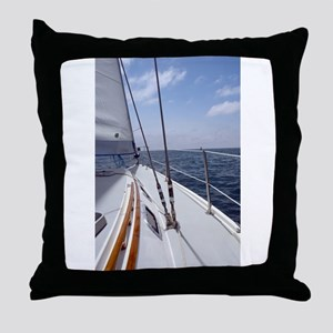 Sail Day Throw Pillow