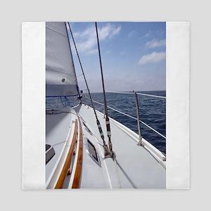 Sail Day Queen Duvet