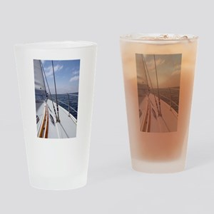 Sail Day Drinking Glass