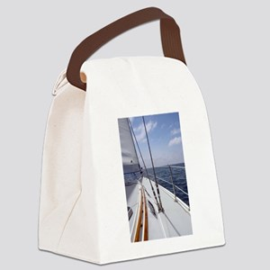 Sail Day Canvas Lunch Bag