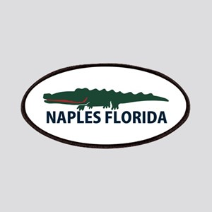 Naples Fl - Alligator Design. Patches