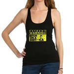 bitch-on-a-diet-middle Racerback Tank Top