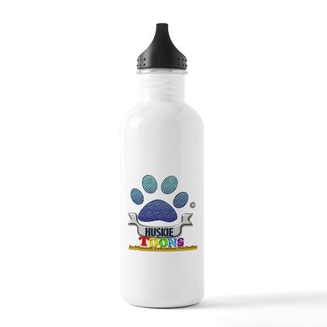 Huskie Toons 2013 logo Water Bottle