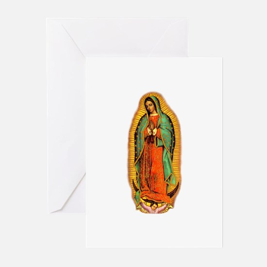 Virgen de Guadalupe Greeting Cards (Pk of 10)