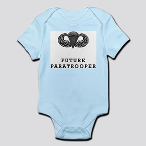 Future Paratrooper Infant Creeper Body Suit
