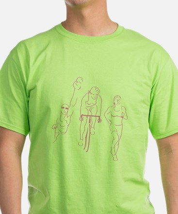 Triathlon Woman T-Shirt
