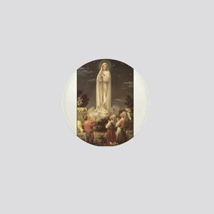 Our Lady of Fatima Mini Button
